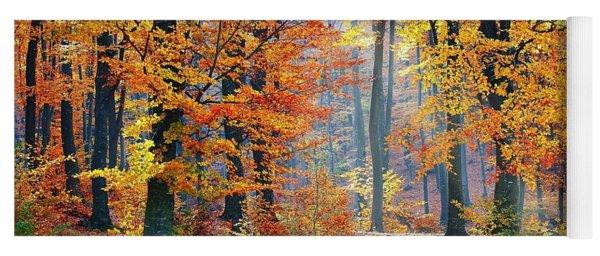 Autumn Splendour Yoga Mat