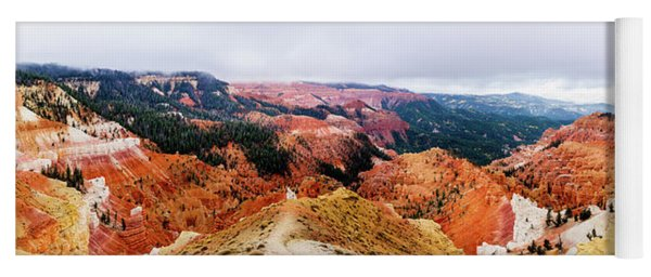 Autumn Storm At Cedar Breaks Yoga Mat