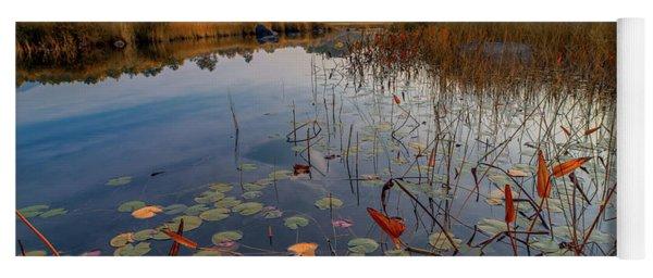 Autumn Sunrise At Compass Pond Yoga Mat