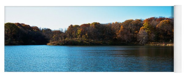 Autumn The In Loess Hills Yoga Mat