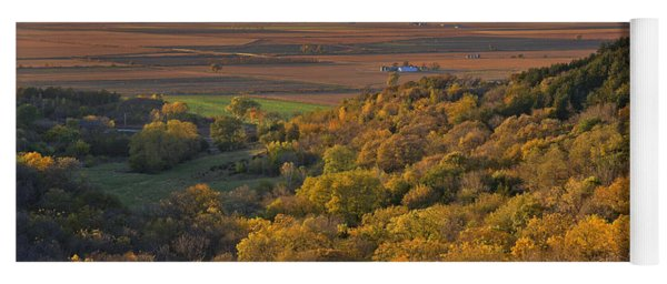 Autumn View At Waubonsie State Park Yoga Mat