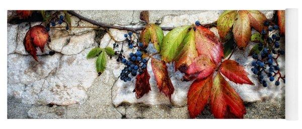 Autumn Vines Yoga Mat