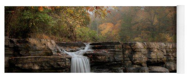 Autumn Water Yoga Mat