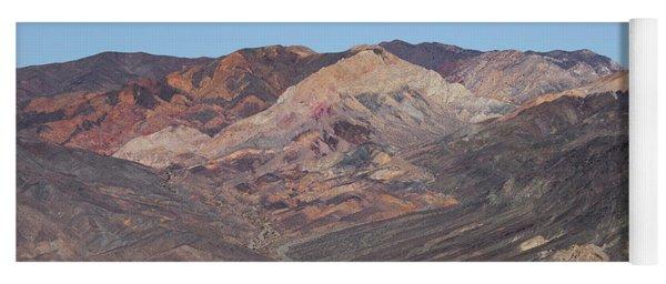 Yoga Mat featuring the photograph Avawatz Mountain by Jim Thompson