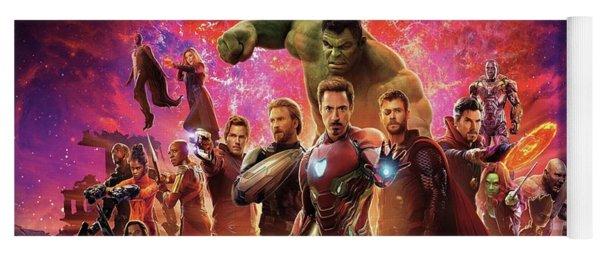 Avengers Infinity War Yoga Mat