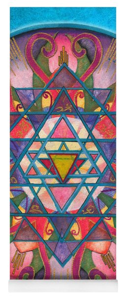 Awareness Mandala Yoga Mat