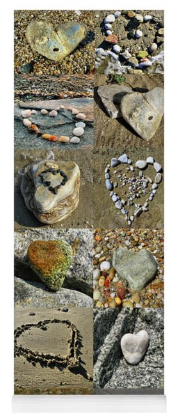 Awesome Hearts Found In Nature - Valentine S Day Yoga Mat