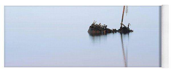 Ayrshire Shipwreck In Sunrise Ref3342 Yoga Mat