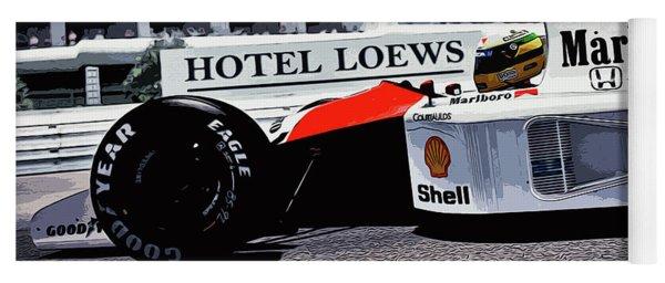 Ayrton Senna - Montecarlo Yoga Mat