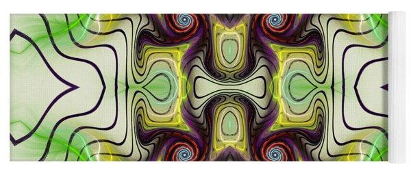 Aztec Art Design Yoga Mat