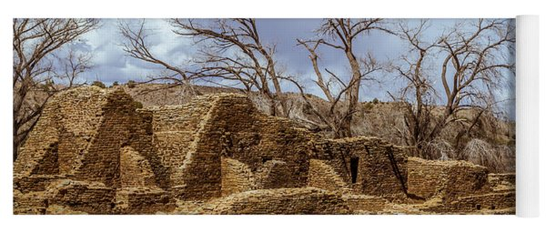Aztec Ruins, New Mexico Yoga Mat