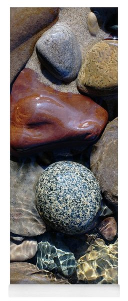 Babbling Brook Bird's Egg Stone Yoga Mat