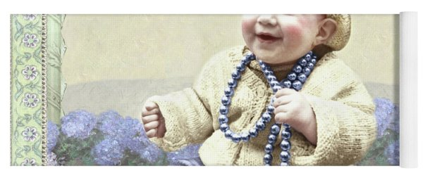 Baby Wears Beads Yoga Mat