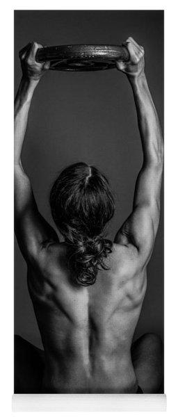 Back Muscles Yoga Mat