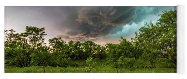 Back To Life - Spring Returns To Western Texas Yoga Mat