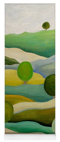 Back To The Green Fields Yoga Mat