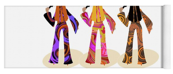 Back To The Sixties Yoga Mat