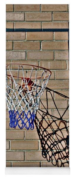 Backyard Basketball Yoga Mat