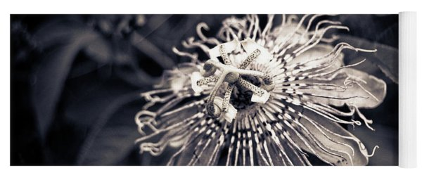 Clematis Flower Bloom Yoga Mat