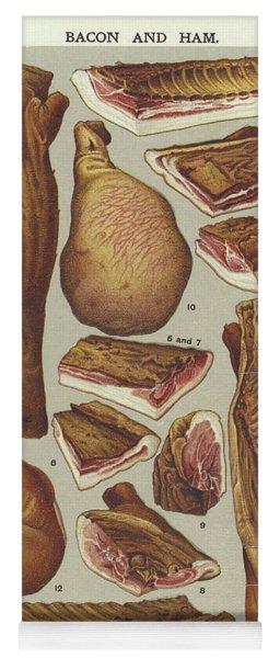 Bacon And Ham  Yoga Mat
