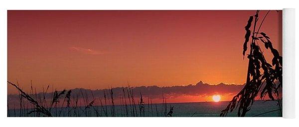 Bad East Coast Sunrise  Yoga Mat