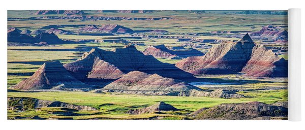 Badlands National Park Yoga Mat