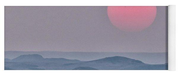 Badlands Sundown Yoga Mat