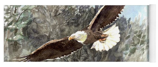 Bald Eagle Yoga Mat