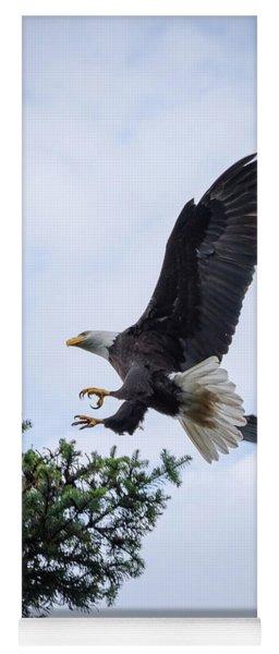 Bald Eagle Landing Yoga Mat