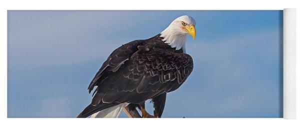 Bald Eagle Majesty Yoga Mat