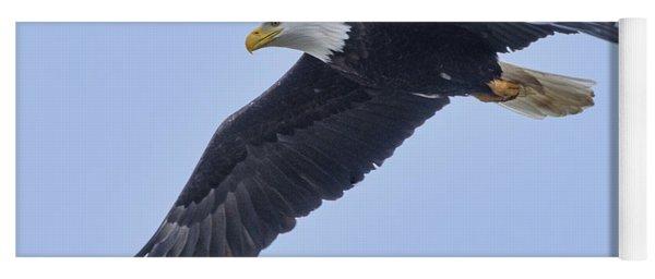 Bald Eagle Overhead Yoga Mat
