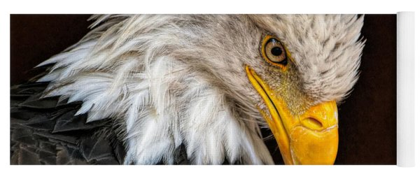 Bald Eagle - Painting Yoga Mat