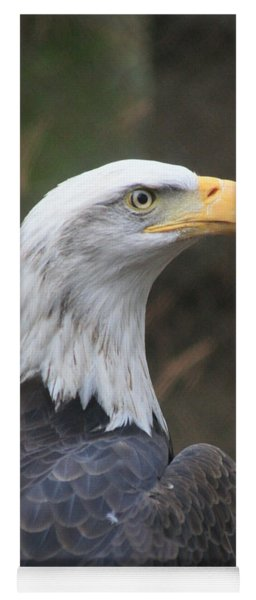 Bald Eagle Profile Yoga Mat