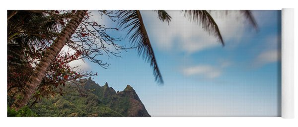 Bali Hai Tunnels Beach Haena Kauai Hawaii Yoga Mat