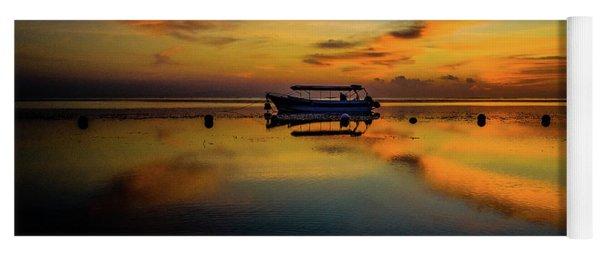 Magical Bali Sunrise Yoga Mat
