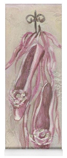 Ballet Shoes Painting Yoga Mat