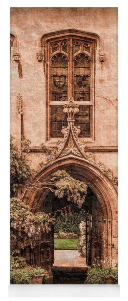 Oxford, England - Balliol Gate Yoga Mat