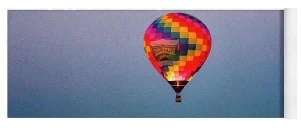 Balloon At Dawn Yoga Mat