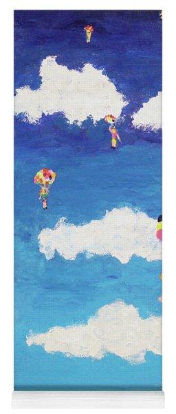 Balloon Girls Yoga Mat