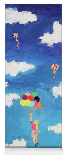 Balloon Girls Yoga Mat