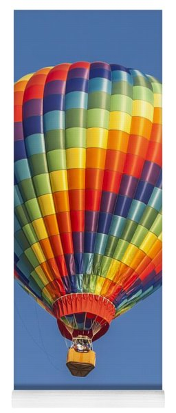 Ballooning In Color Yoga Mat