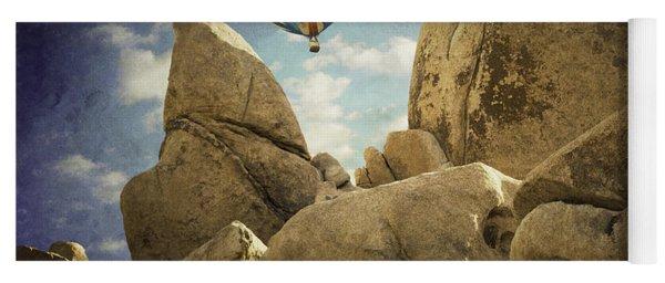 Ballooning In Joshua Tree Yoga Mat