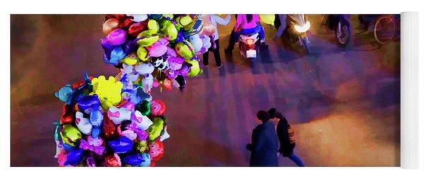 Balloons Hanoi Hoan Kiem Lake  Yoga Mat
