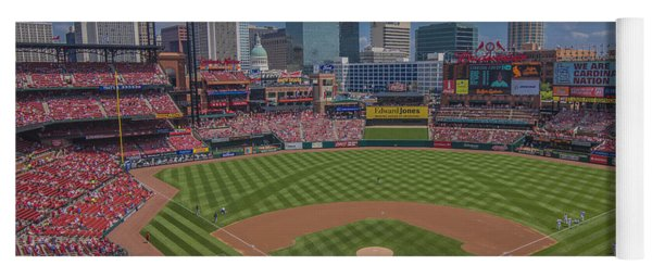 Ballpark Village Cardinal Nation Busch Stadum St. Louis Cardinals April 2015 #2 Yoga Mat