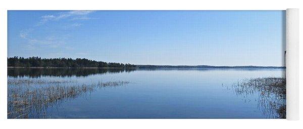 Baltic Sea Near Stensund Yoga Mat