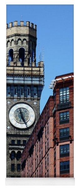 Baltimore Bromo Seltzer Tower Yoga Mat