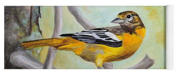 Baltimore Oriole Yoga Mat