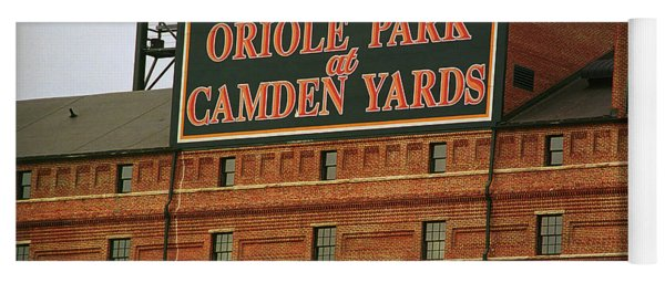 Baltimore Orioles Park At Camden Yards Yoga Mat
