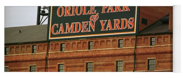 Baltimore Orioles Park At Camden Yards Yoga Mat