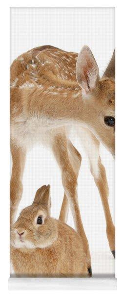 Bambi And Thumper Yoga Mat